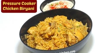 Quick Chicken Biryani | Pressure Cooker Chicken Biryani  | Begginers Recipe | kabitaskitchen