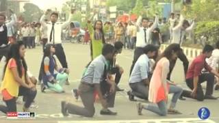 Cholo Bangladesh-চলো বাংলাদেশ(Flash Mob) --ICC CWC 2015 Bangladesh