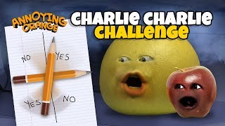 3AM CHARLIE CHARLIE CHALLENGE! [Grapefruit & Midget Apple] #Shocktober