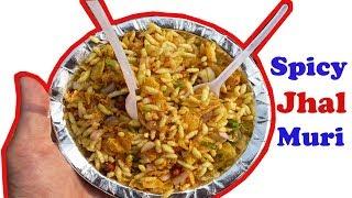 Bengali Street Food India: Hot & Spicy Jhal Muri (Masala Muri) | Street Food kolkata