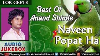 Best Of Anand Shinde : Naveen Popat Ha - Best Marathi Lokgeete    Audio Jukebox