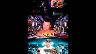 John Cena vs The Miz I Quit Match