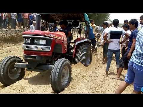 Xxx Mp4 Mahindra Arjun 555 Tractor Again Stuck In Jtola Harrow Competition 3gp Sex