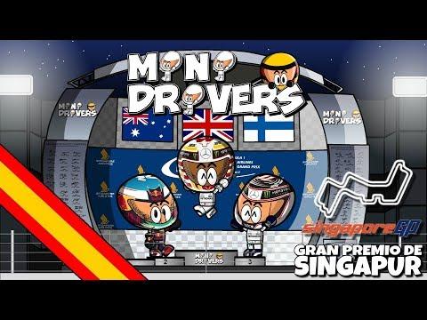 [ES] MiniDrivers - 9x14 - 2017 GP de Singapur