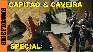 Caveira and Capitao: Skull Rain Gameplay - Rainbow Six Siege
