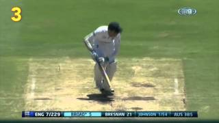 Top 10 Aussie Ashes wickets
