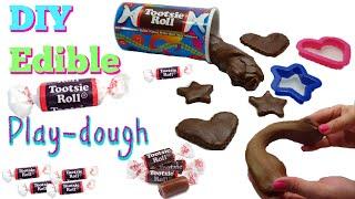 DIY Edible Tootsie Roll Play-dough | How to make Tootsie Roll Play-dough| plastilina comestible