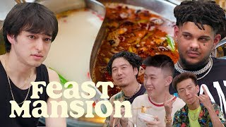 Smokepurpp, Joji, and Rich Brian Eat Hot Pot with Melo and Dumbfoundead | Feast Mansion