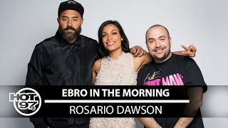 Rosario Dawson Reminisces  on Sex Scenes As A Virgin & Talks Double Standards in Hollywood
