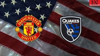 Manchester United vs San Jose Earthquakes 3-1 All Goals & Highlights - ICC 2015