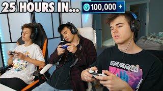 Last One Playing Fortnite WINS 100,000 VBUCKS!  (Fortnite Battle Royale)