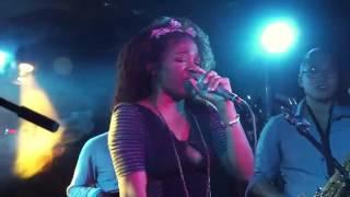 FEMALE RAPPER live at Webster Hall @_BushTea_