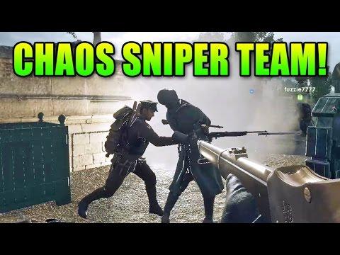 watch Battlefield 1 Shotgun Sniper Team!   BF1 Gameplay