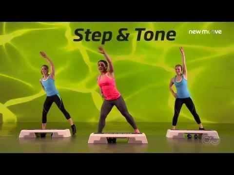 Online Fitness I Bodyshaping I Step and Tone Folge 2