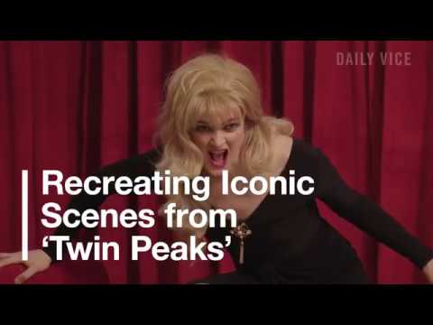 Recreating Iconic Scenes from Twin Peaks
