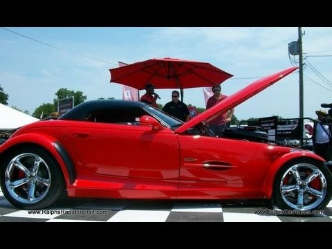2012 Chrysler Nationals 6.1 Hemi Prowler reveal interview Dodge SRT Showcase