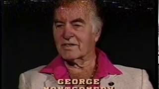 George Montgomery--Rare TV Interview, Dinah Shore