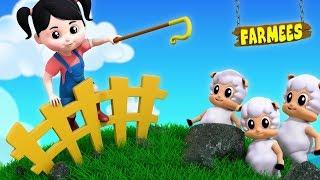 Little Bo Peep | Nursery Rhymes | Kids Songs For Toddlers by Farmees