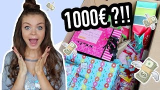 L'ENORME SWAP 😮💸 1000€ DE CADEAUX