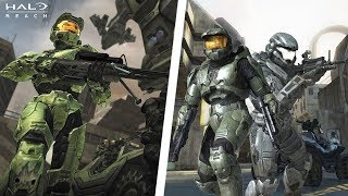 ¿Por qué Master Chief no sale en Halo: Reach?