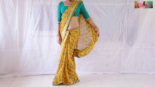 How To Wear Saree Simply: Jillahub Sari Draping Tutorial To Look Elegant
