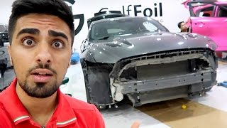WHAT HAPPENED TO MY CAR !!!
