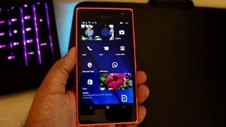 Windows 10 mobile anniversary update and new features on Lumia 730 (Build 14393.67)