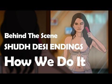 SHUDH DESI ENDINGS - How To Draw Sunny Leone