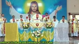 Holy Eucharist : Preached By Rev.Fr.Anil Kiran Fernandes,SVD ( 13.05.2017)