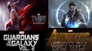 Upcoming Marvel's  superhero  Movies  (2016-19)