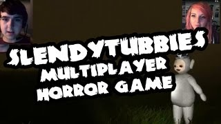 [HORROR] Slendytubbies Multiplayer ft. Joel (dual facecam action)