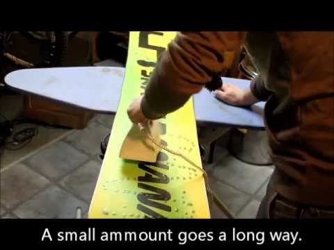 the several ways to go about waxing a snowboard Whether you are dialing your snowboard in for your next (citrus or orange based), a rag, your choice of wax, a waxing iron (do not find a flow go riding.