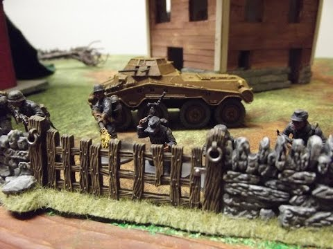 Bolt Action Battle Report #8 Fun game with the wife