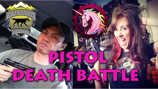 Jet DesertFox vs. Unicorn Leah Pistol Death Battle