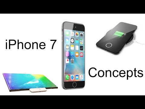 iPhone 7 Concept Rendering Compilation