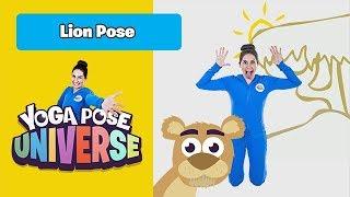 Lion Pose | Yoga Pose Universe