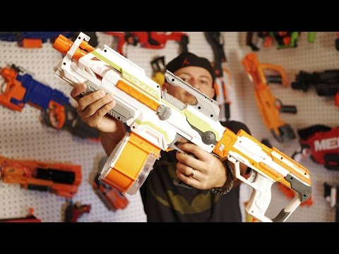 modulus ecs 10 nerf blaster mods unboxing review playithub