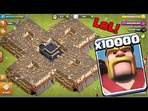 Xxx Mp4 10000 KINGS VS 500 Buildings OMG Clash Of Clans 3gp Sex