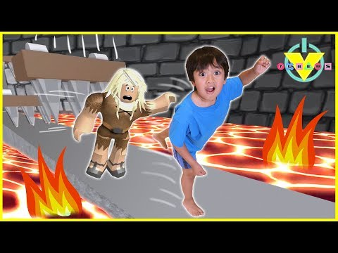 Vtubers Ryan Vs Daddy ROBLOX Let s Play Escape From Dungeon