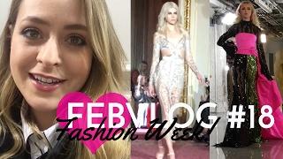 LFW & Getting PIERCED! FebVlog 18