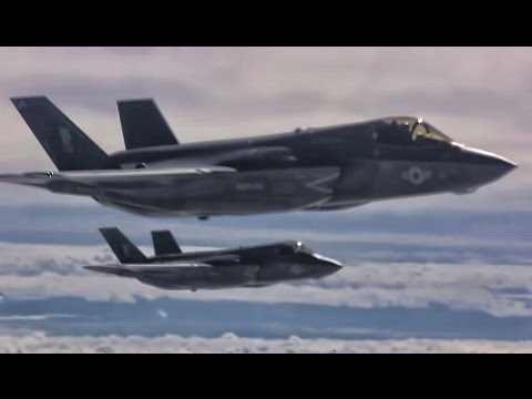 F-35B Inflight To Japan For Permanent Relocation