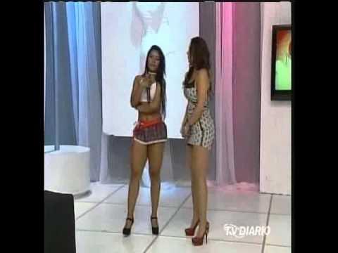 Manias de Voce 10 10 13 Rayhellen Andrade matando sainha e dançarina Paredão Nick Sol