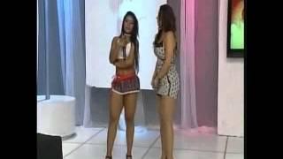 Manias de Voce 10-10-13 - Rayhellen Andrade matando sainha e dançarina Paredão Nick Sol