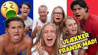 Kærester Og Familie Tester Fransk Mad (MEGET ULÆKKERT!) Ft. Kender Du Det
