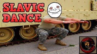 American Soldiers Hardbass Dance Off - Slavic Edition