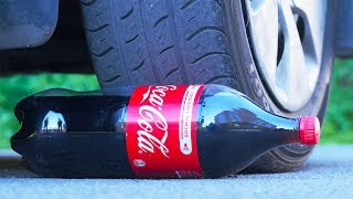 EXPERIMENT CAR vs COCA COLA