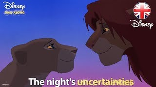 DISNEY SING-ALONGS   Can You Feel The Love Tonight? The Lion King Lyric Video   Official Disney UK