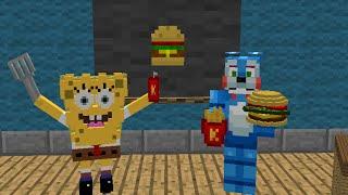 FNAF Monster School: SpongeBob class! - Minecraft Animation
