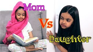 Mom Vs Daughter | FUNNY | Aimalifestyle