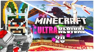 Minecraft: Ultra Modded Revival Ep. 20 - MEGA DUNGEON